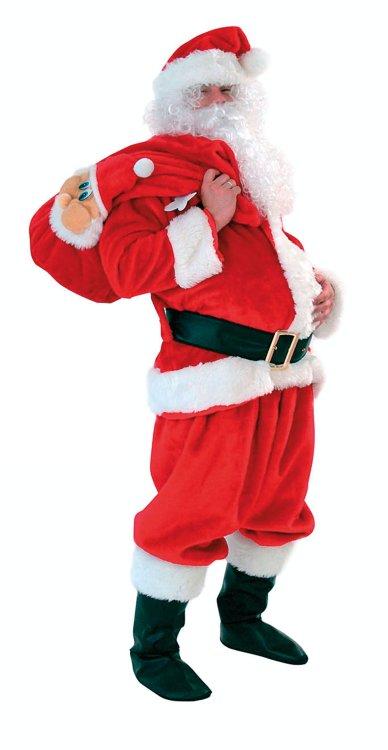 Χριστουγεννιάτικη Στολή Άγιος Βασίλης Πολυτελείας