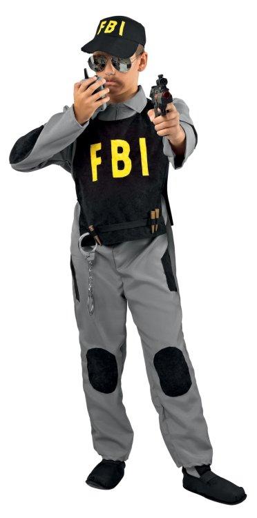 Αποκριάτικη Στολή Πράκτορας Fbi
