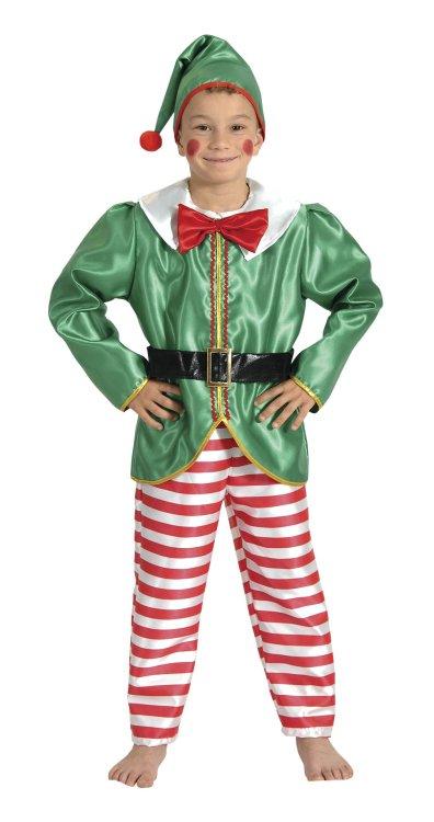 Χριστουγεννιάτικη Στολή Ξωτικό Αγόρι