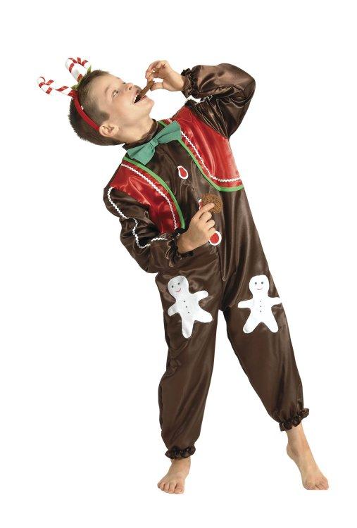 Χριστουγεννιάτικη Στολή Μπισκότο Αγόρι