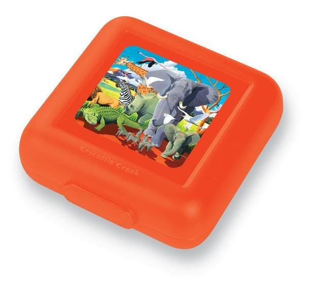CROCODILE CREEK, Πλαστικό Παιδικό Δοχείο Φαγητού Σαφάρι