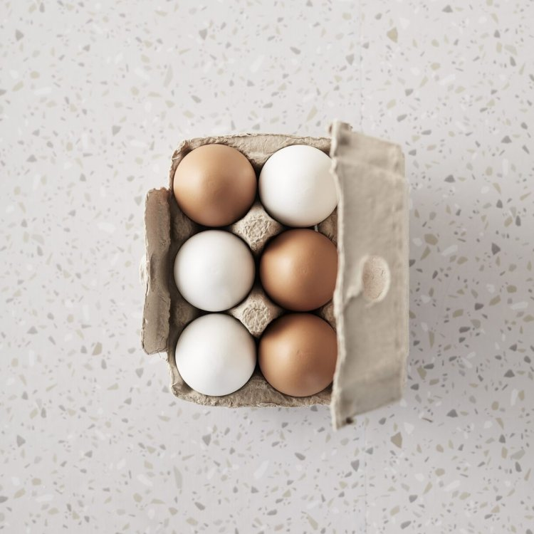 KIDS CONCEPT. Σετ 6 ξύλινα αυγά