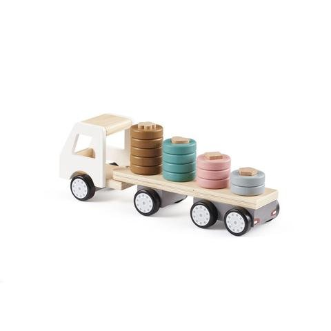 KIDS CONCEPT. Ξύλινο φορτηγάκι με κρίκους