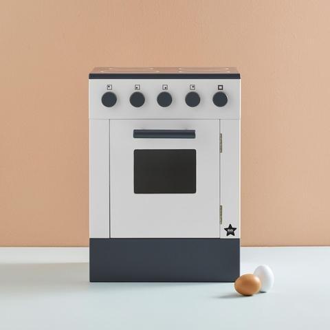 KIDS CONCEPT. Ξύλινος φούρνος BISTROT (λευκό)