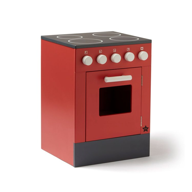 KIDS CONCEPT. Ξύλινος φούρνος BISTROT (κόκκινο)