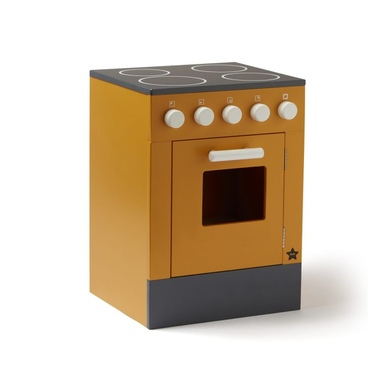 KIDS CONCEPT. Ξύλινος φούρνος BISTROT (κίτρινο)