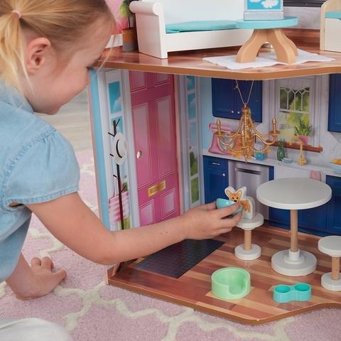 KIDKRAFT. Κουκλόσπιτο Matilda. Περιλαμβάνει έπιπλα & αξεσουάρ.