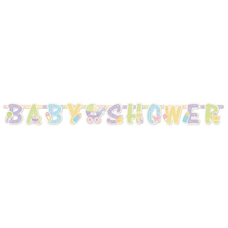 Γιρλάντα Γράμματα Baby Shower
