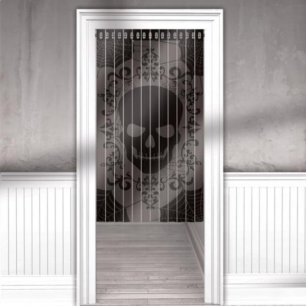 Κουρτίνα Με Νεκροκεφαλή