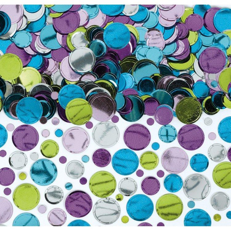 Κομφετί Πολύχρωμο Pastel Foil Dots 70Γρ