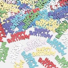 Κομφετί Met Happy Birthday