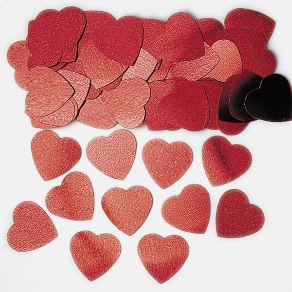 Κομφετί Red Jumbo Hearts