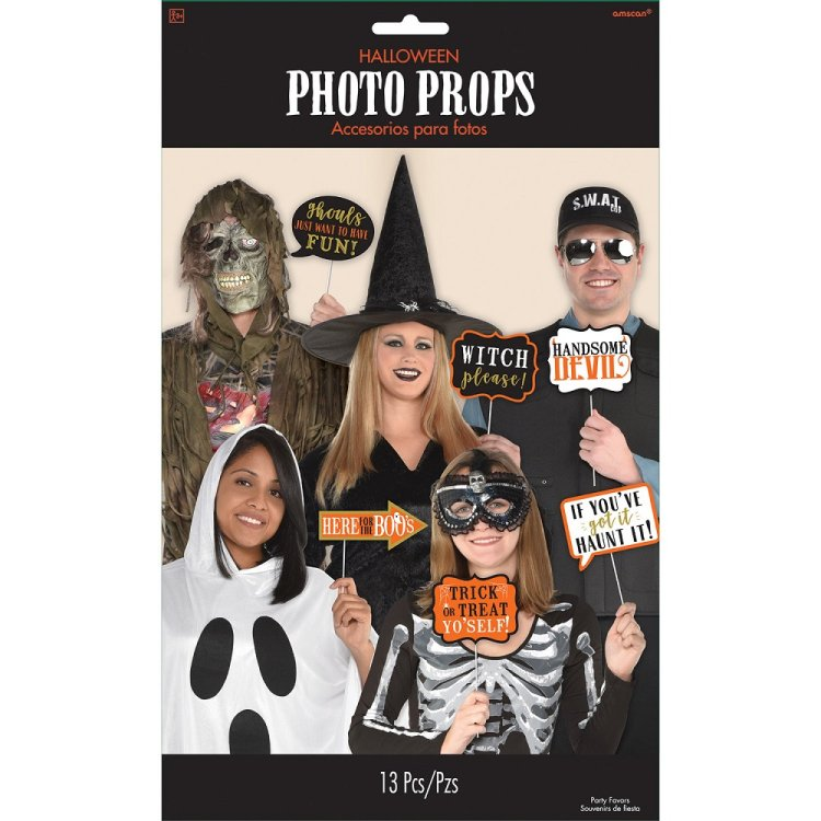 Σετ Φωτογρ. Θαλάμου Halloween Words 13τεμ.
