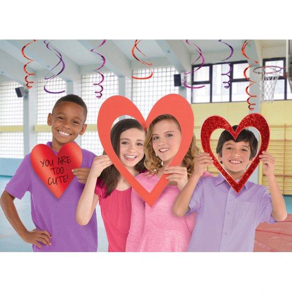 Σετ Φωτογραφ Θαλάμου Hearts 3τεμ.