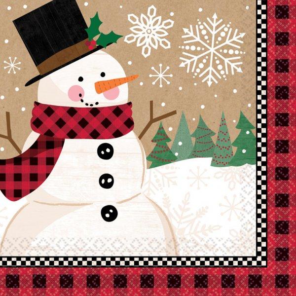 Χαρτοπετσέτες Γλυκού Winter Wonderland Christmas 16τεμ.