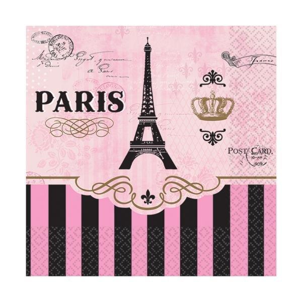 Χαρτοπετσέτες Γλυκού A Day In Paris 16τεμ.