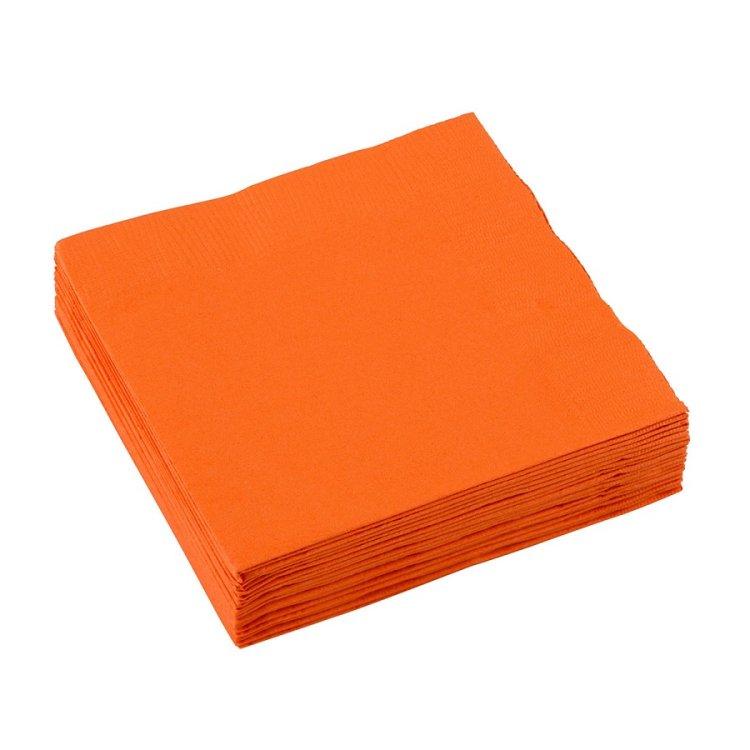 Χαρτοπετσέτες Γλυκού 2φυλλη Πορτοκαλι 20τεμ.