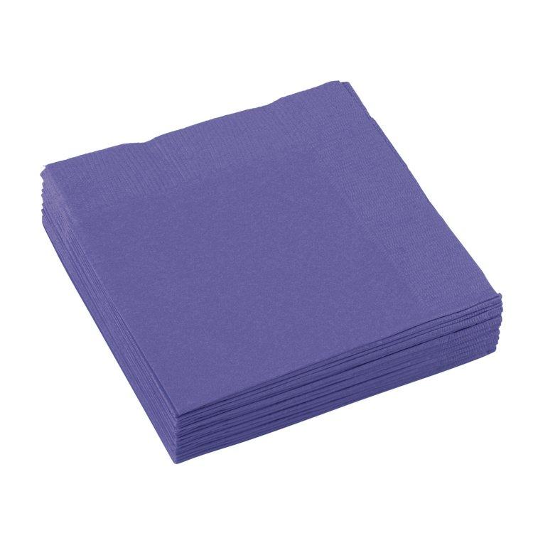 Χαρτοπετσέτες Γλυκού 2φυλλη New Purple Μωβ 20τεμ.