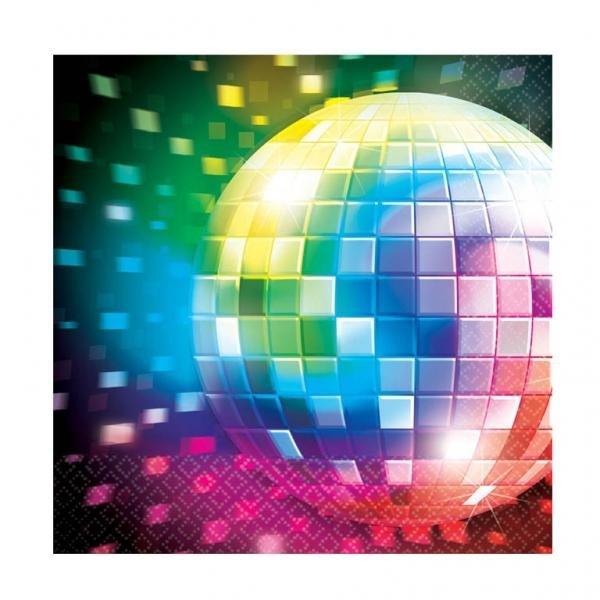 Χαρτοπετσέτες Φαγητού Disco Fever 16τεμ.