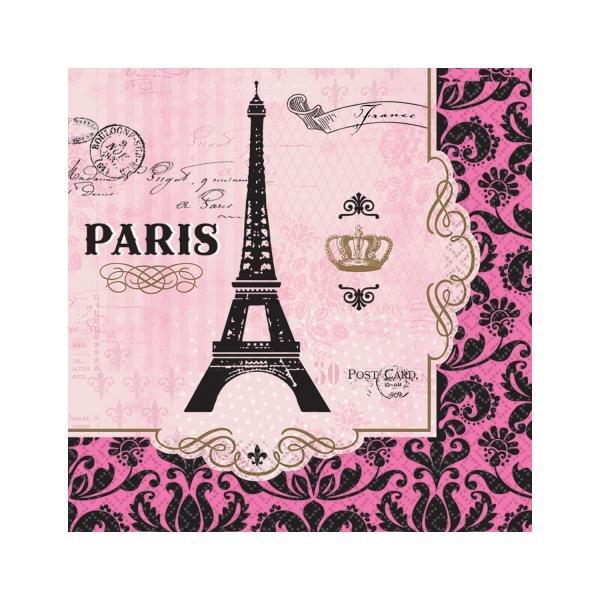 Χαρτοπετσέτες Φαγητού A Day In Paris 16τεμ.