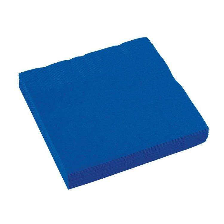 Χαρτοπετσέτες Φαγητού 2φυλλη Bright Royal Blue 20τεμ.