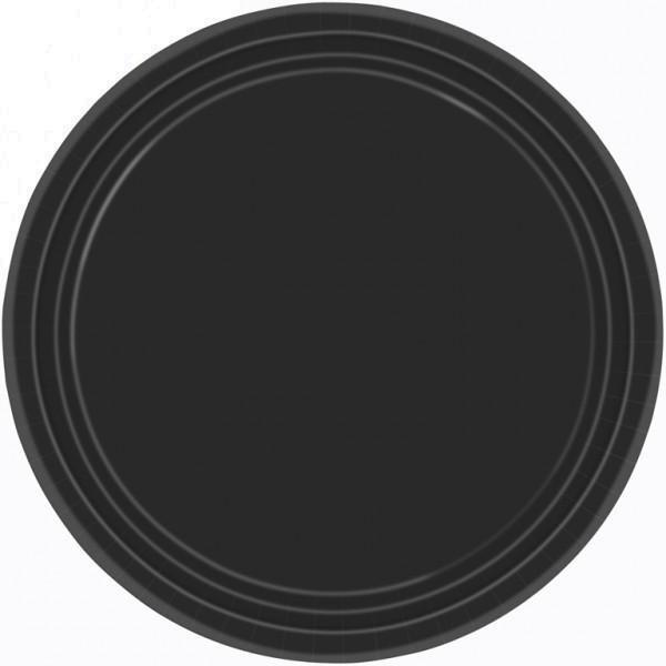 Πιάτα 22 8Cm Μαυρα 8 τεμ.