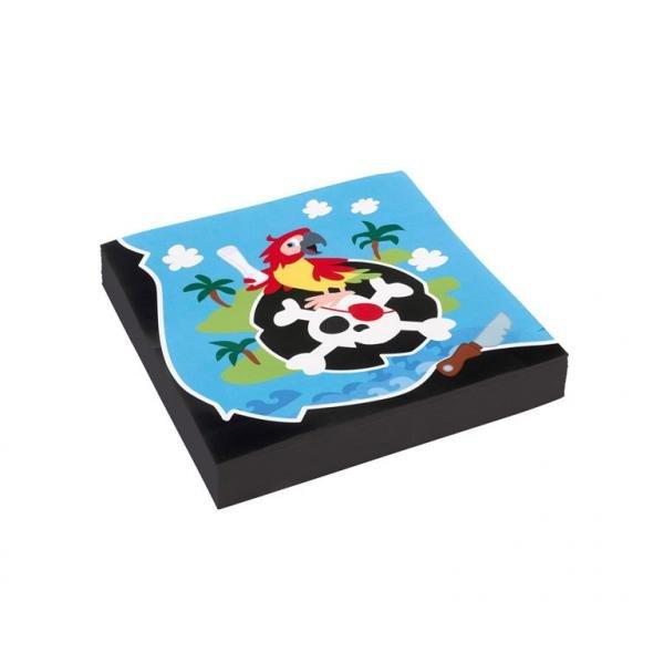 Χαρτοπετσέτες φαγητού 33εκ Pirate /20 τεμ