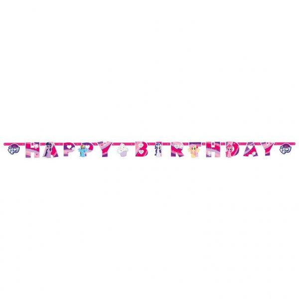 Γιρλάντα γράμματα Happy Birthday My Little Pony