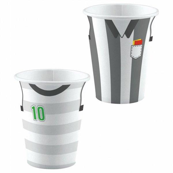 Χάρτινο Ποτήρι 250ml Ποδόσφαιρο /8 τεμ
