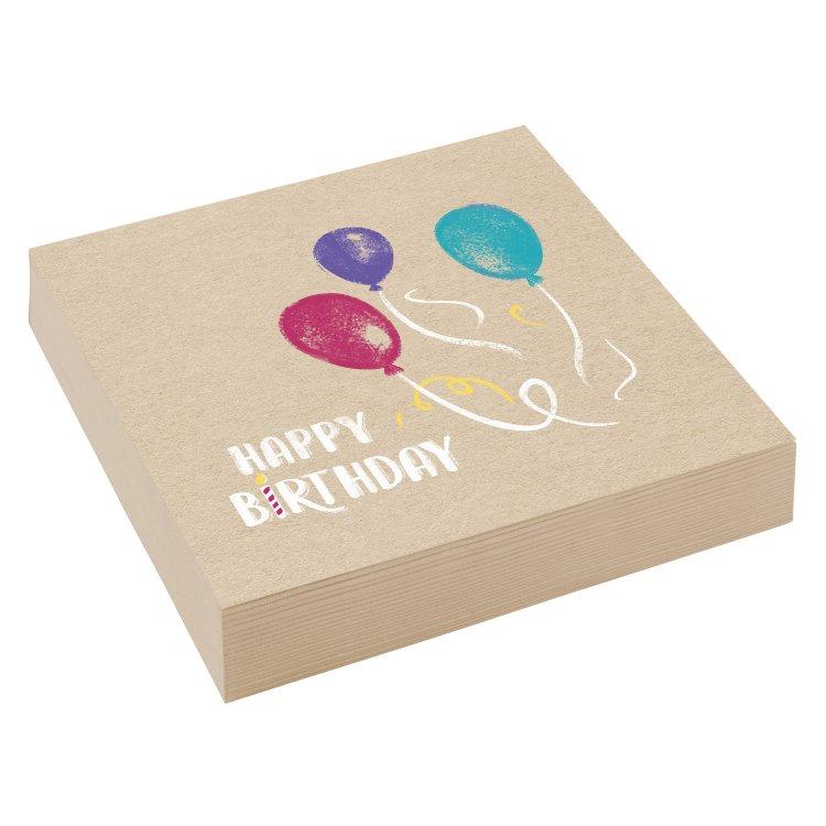 Χαρτοπετσέτες 33 εκ My Birthday Party /20 τεμ