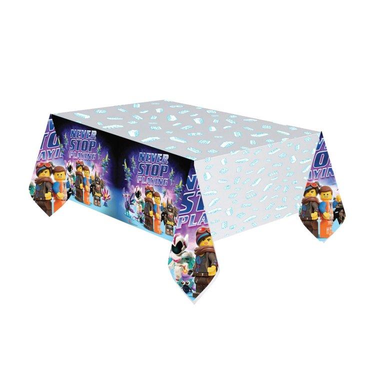 Τραπεζομάντηλο πλαστικό Lego Movie