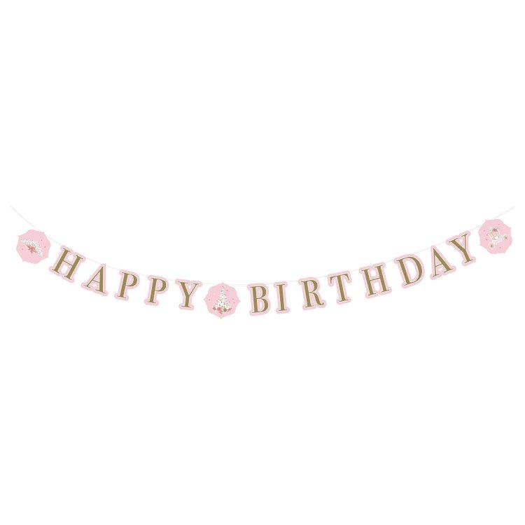 Γιρλάντα γράμματα Happy Birthday Princess for a Day