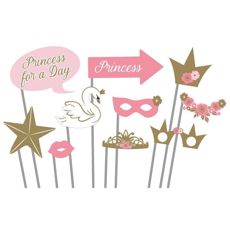 Σετ Φωτογραφικού Θαλάμου Princess for a Day /10 τεμ