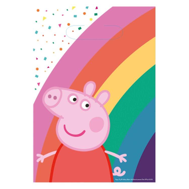 Τσάντες Δώρου Χάρτινες Peppa Pig  / 8 τεμ