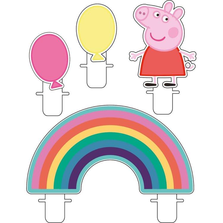 Κεριά Peppa Pig 4τεμ.