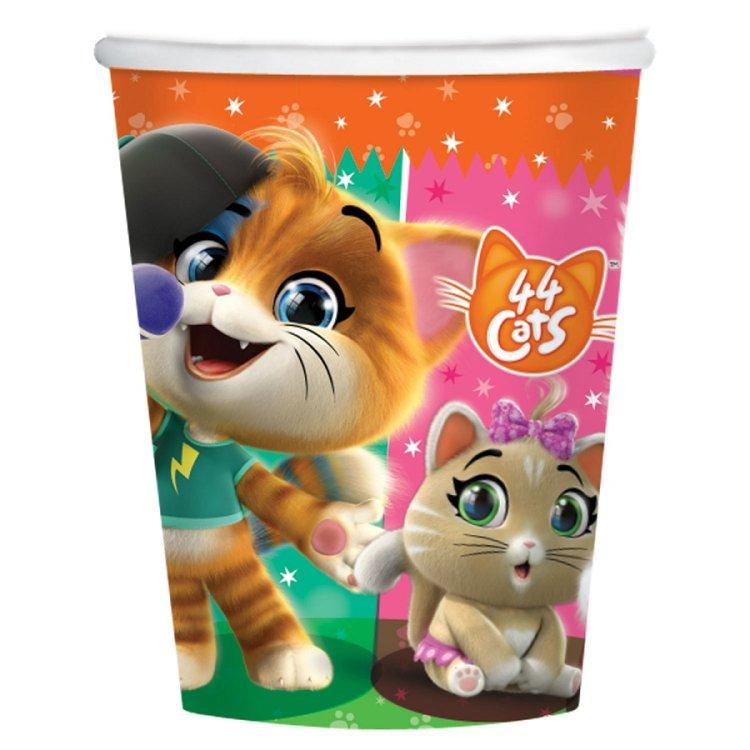 Ποτήρια 44 Cats 8τεμ.
