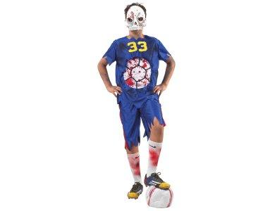 Αποκριάτικη Στολή Ποδοσφαιριστής Ζόμπυ