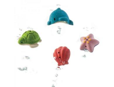 Σετ μπάνιου με ζώα της θάλασσας
