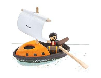 Βάρκα με πειρατή