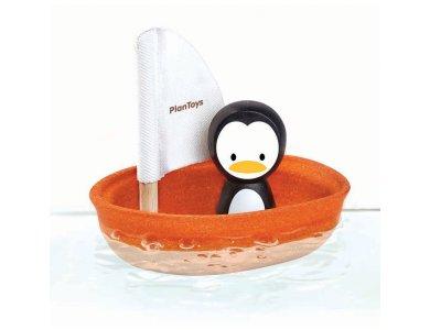 Ιστιοφόρο με πιγκουίνο