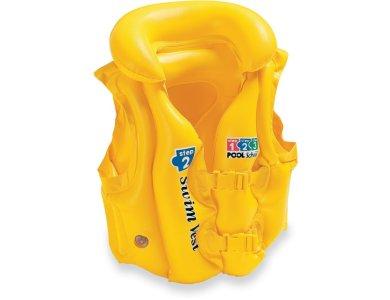 Intex Φουσκωτό Γιλέκο Κολύμβησης Deluxe Swim Vest