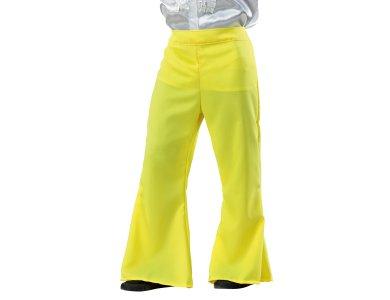 Αποκριάτικη Στολή Disco Παντελόνι (Κίτρινο)