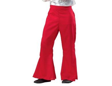 Αποκριάτικη Στολή Disco Παντελόνι (Κόκκινο)