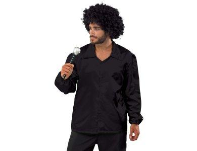 Αποκριάτικη Στολή Disco Πουκάμισο (Μαύρο)