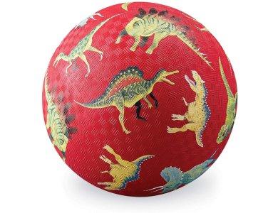 CROCODILE CREEK, Μπάλα 18 εκ. Δεινόσαυροι (κόκκινο)