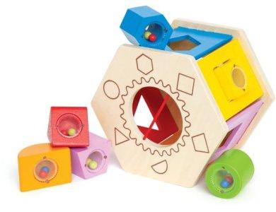 Hape - Μάθε & Ταξινόμησε Διαφορετικά Σχήματα & Χρώματα