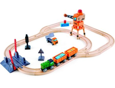 Hape - Σιδηρόδρομος με Γερανό Φορτοεκφόρτωσης