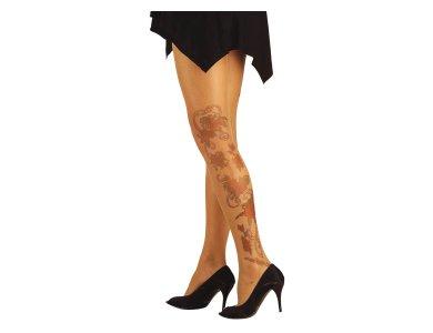 Αποκριάτικο Αξεσουάρ Τατουάζ Κάλτσα 2σχδ