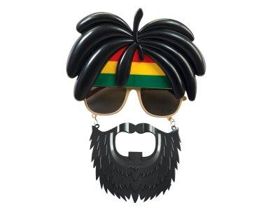 Αποκριάτικο Αξεσουάρ Γυαλιά Bob Marley