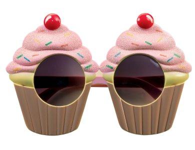 Αποκριάτικο Αξεσουάρ Γυαλιά Cupcake
